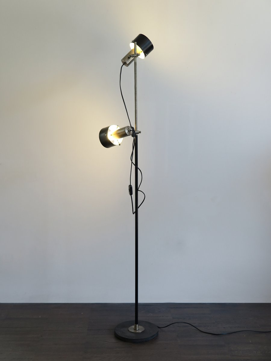 Delightful Mid Century Italian Adjustable Floor Lamp, 1960s For Sale At Pamono