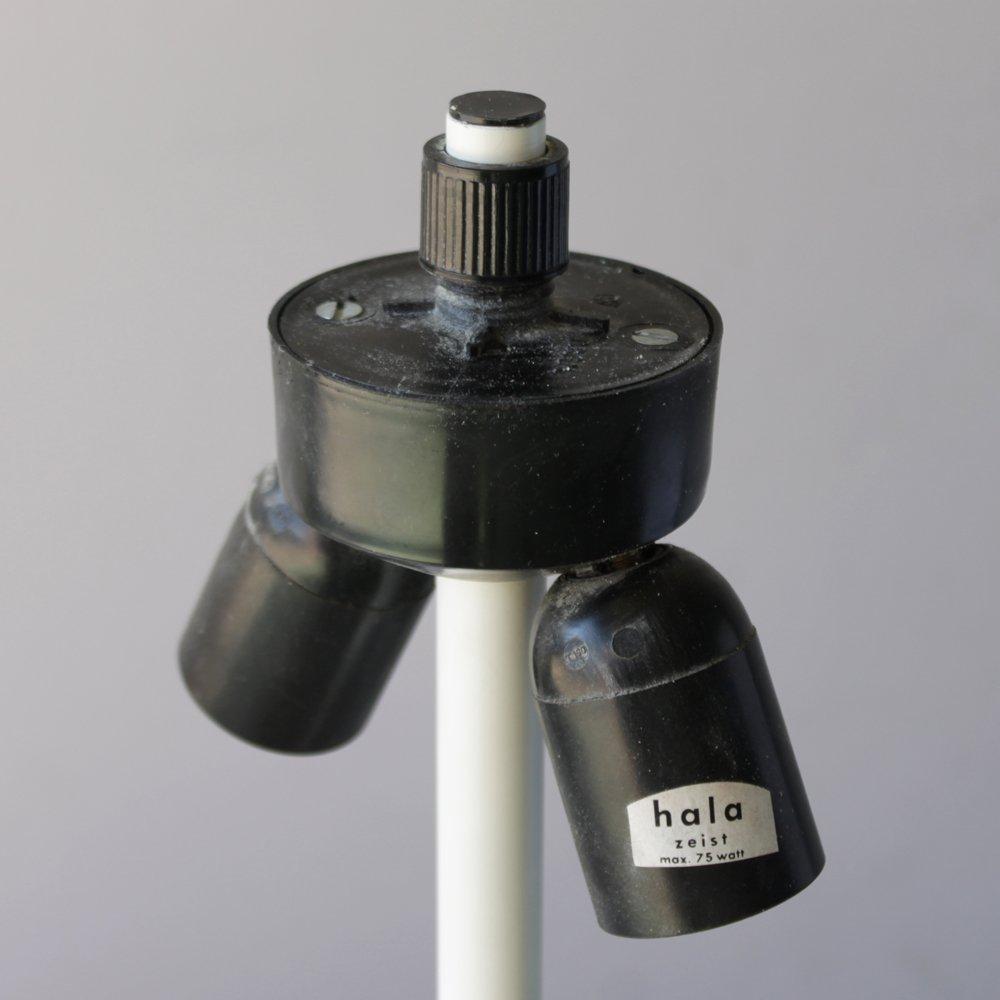 Niederl ndische wei e vintage tischlampen von hala 2er for Tischlampen vintage