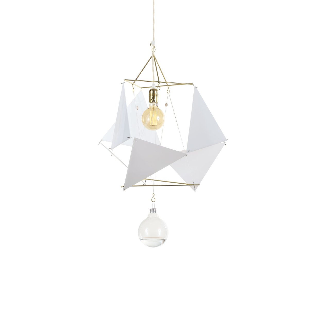 Vector Equilibrium PMMA Modular Lamp System by Nicolas Brevers for ...