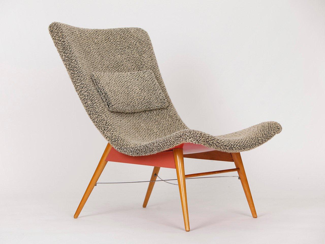 Mid century stuhl von miroslav navratil f r cesky nabytek 1960er bei pamono kaufen - Mid century stuhl ...
