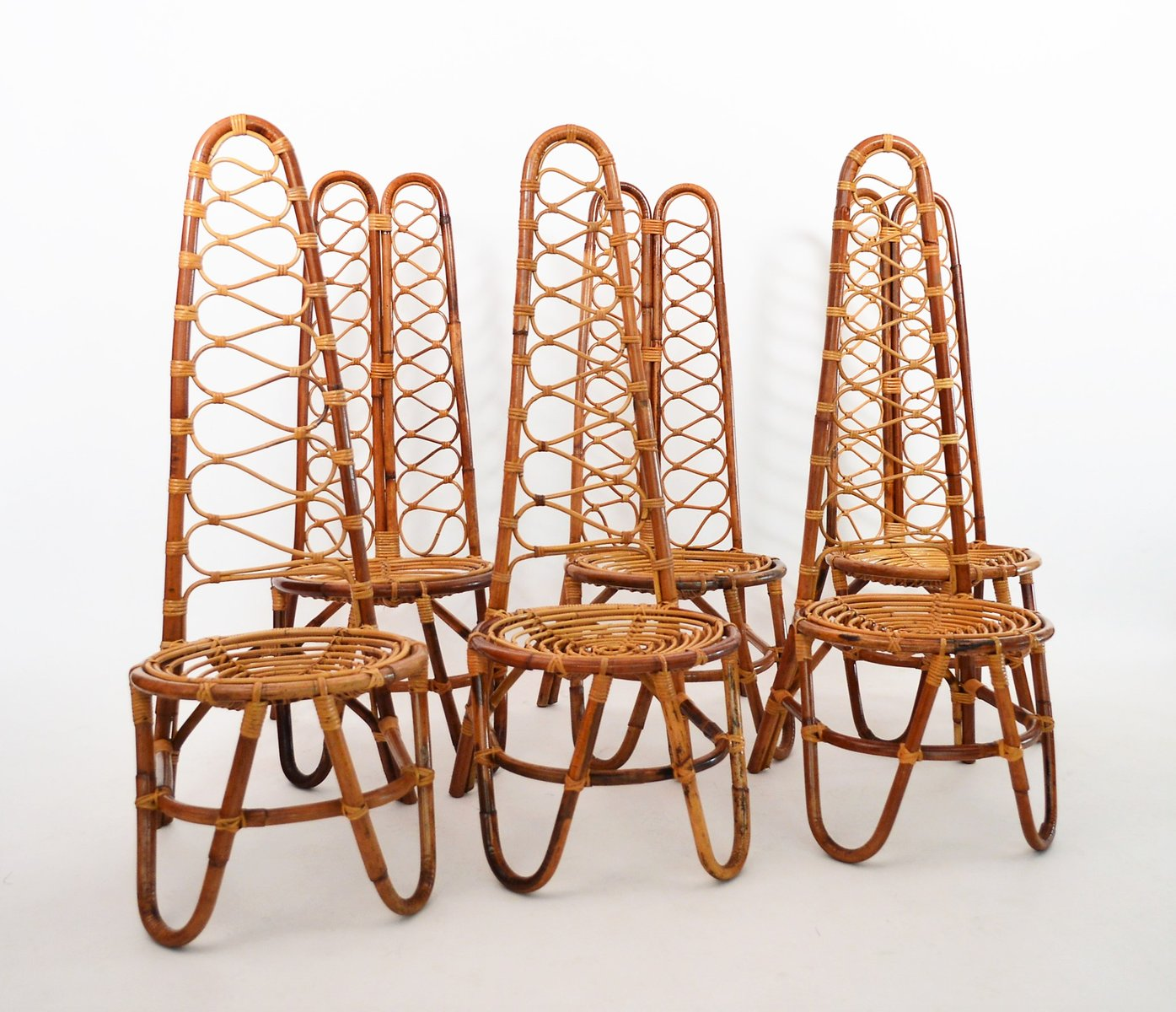 Previous. Next. 1 / 17. Mid Century Bamboo Chairs ...