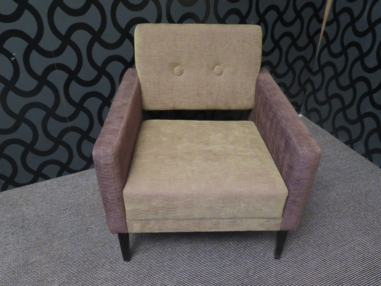 italienische sessel aus samt in gr n lila 1950er 2er. Black Bedroom Furniture Sets. Home Design Ideas