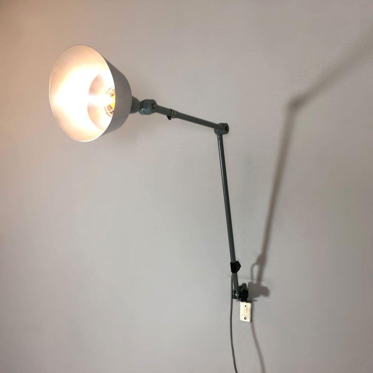 deutsche industrielle vintage lampe von curt fischer f r. Black Bedroom Furniture Sets. Home Design Ideas