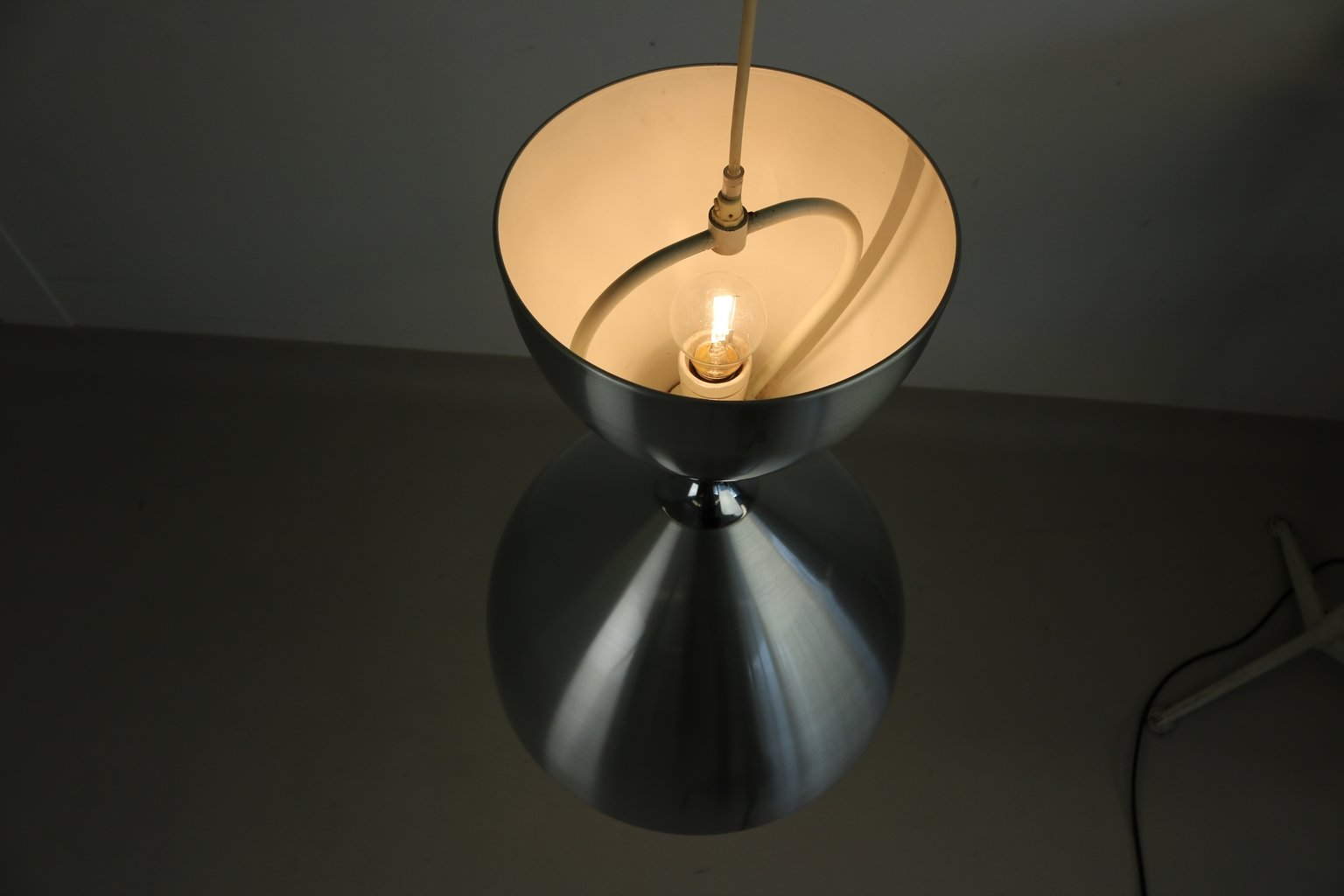 gro e vega h ngelampe von jo hammerborg f r fog m rup. Black Bedroom Furniture Sets. Home Design Ideas