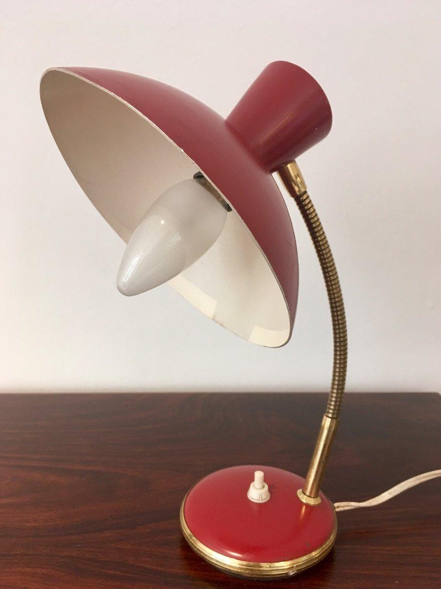 lampe de bureau et applique murale vintage rouges de ajh set de 2 en vente sur pamono. Black Bedroom Furniture Sets. Home Design Ideas