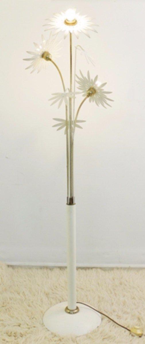 Vintage Flower Floor Lamp for sale at Pamono