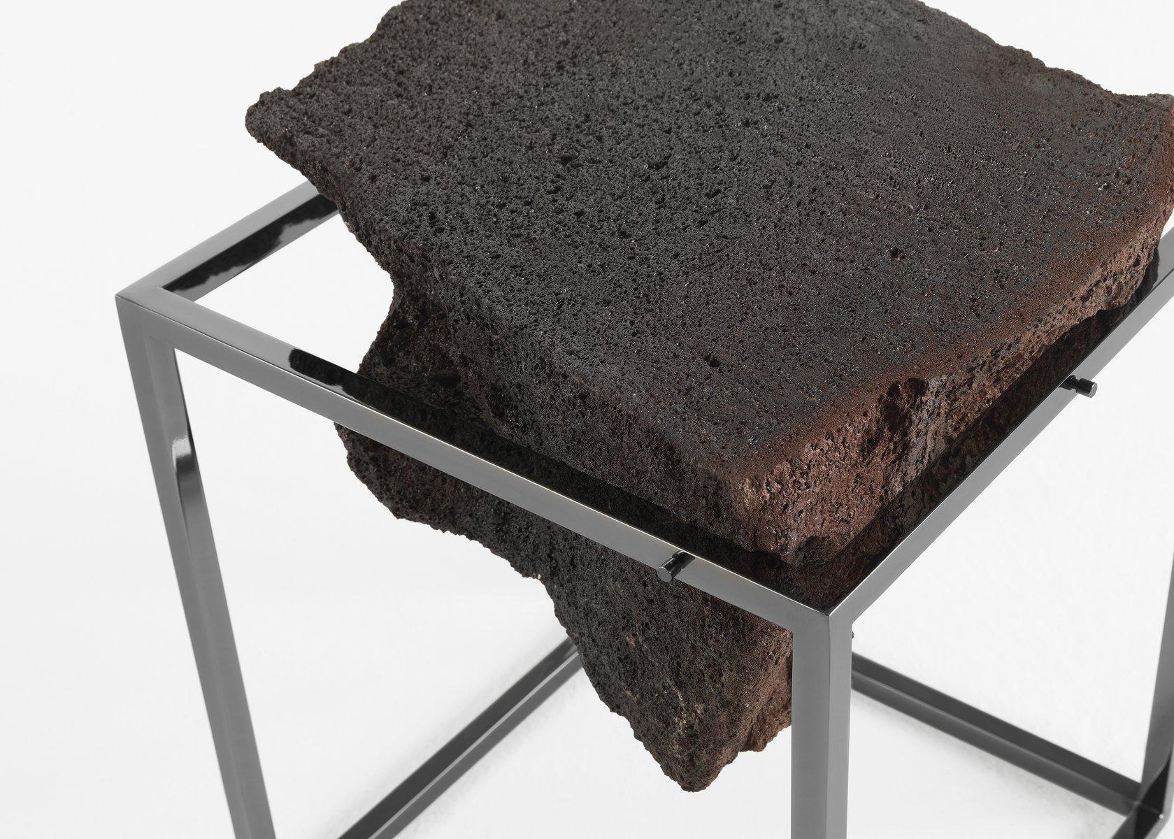 hoher chrom antivol tisch von ctrlzak f r jcp bei pamono. Black Bedroom Furniture Sets. Home Design Ideas