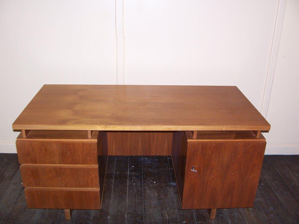 Vintage holz schreibtisch bei pamono kaufen for Schreibtisch holz modern