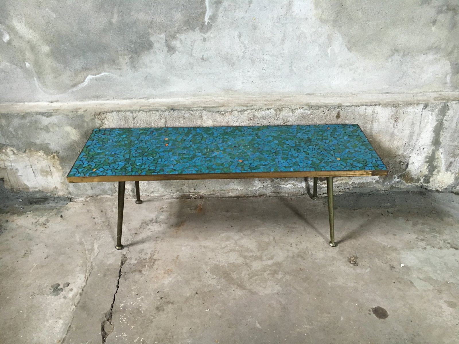 Mosaic coffee table 1950s for sale at pamono for Mosaic coffee table designs