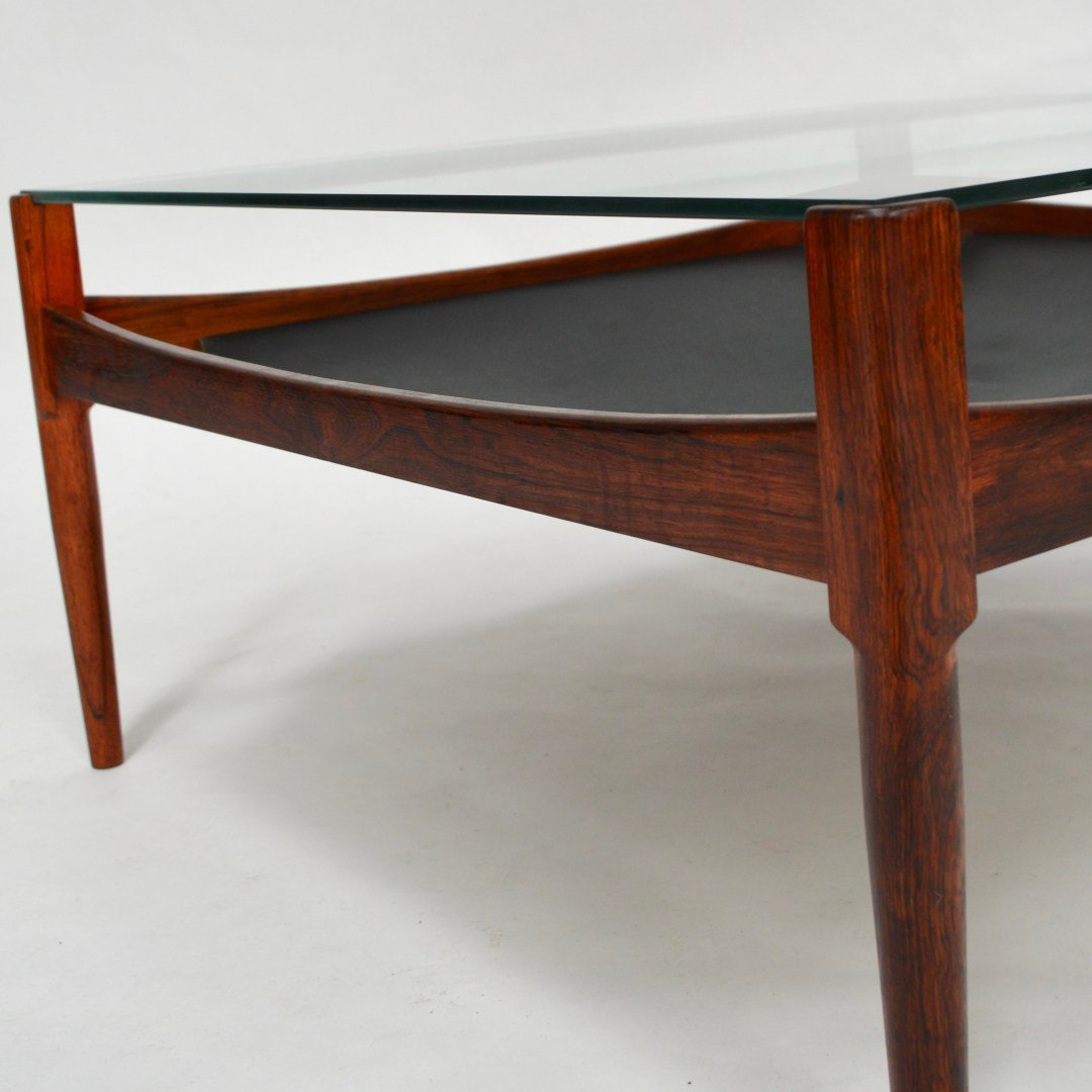 rio rosewood coffee table by kristian vedel for s ren. Black Bedroom Furniture Sets. Home Design Ideas