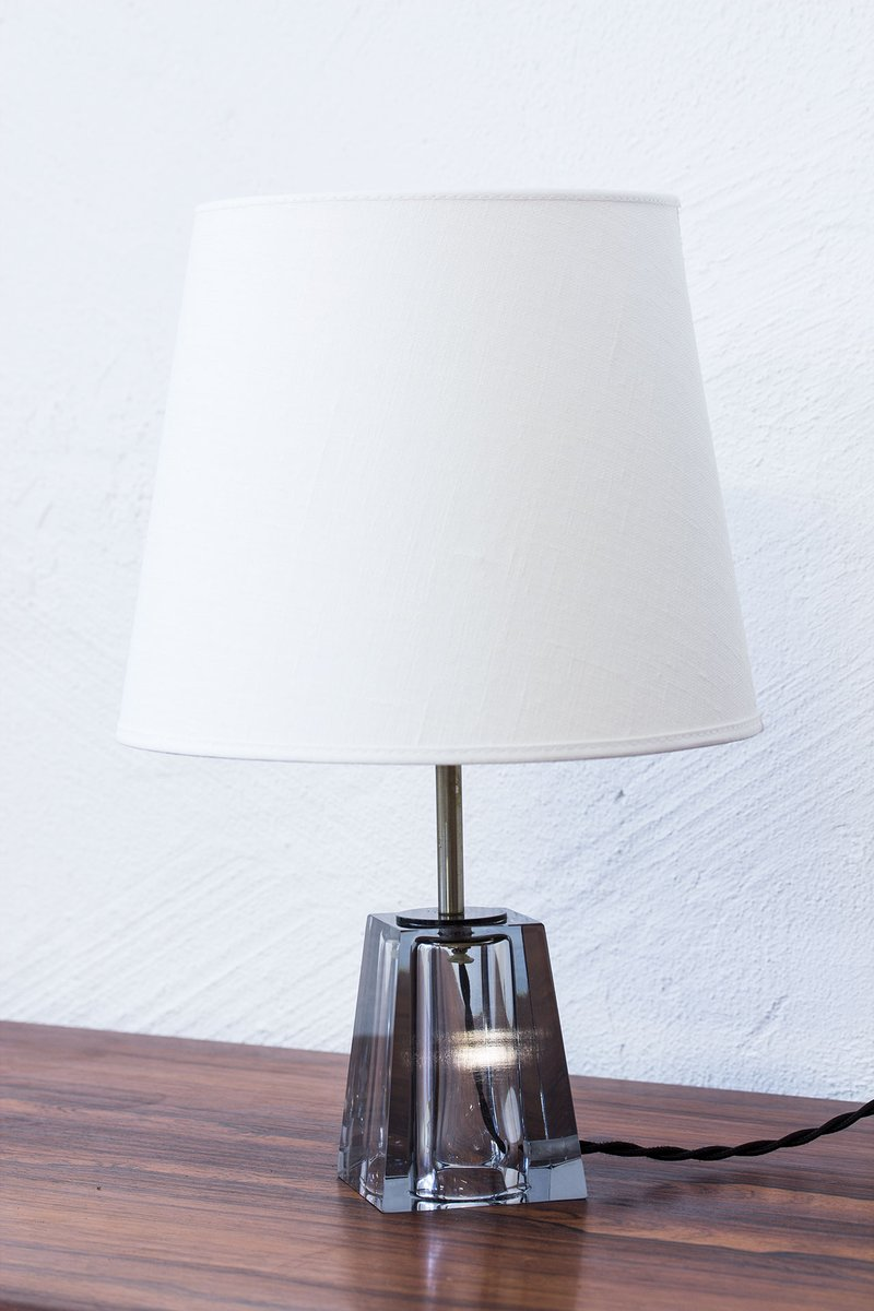 Mid century swedish glass table lamp by carl fagerlund for orrefors mid century swedish glass table lamp by carl fagerlund for orrefors 1960s aloadofball Image collections