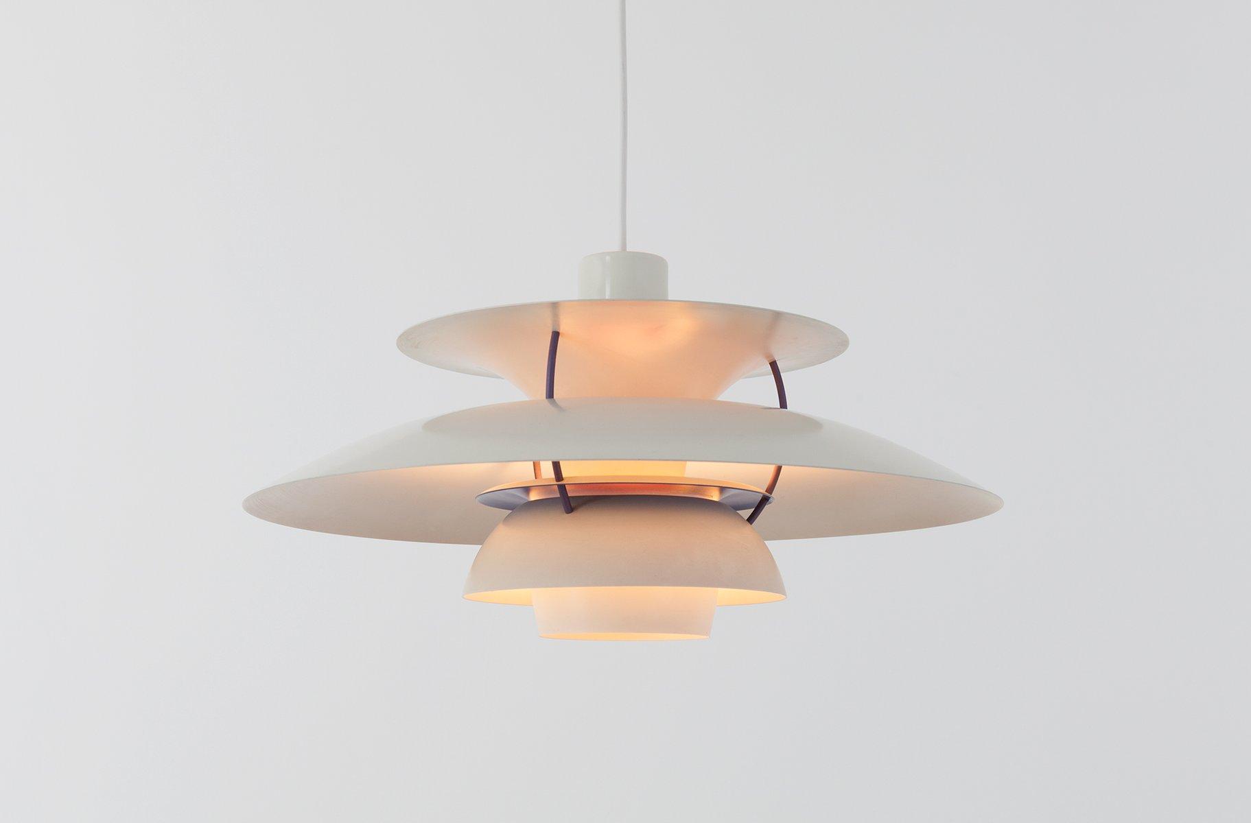 mid century ph 5 lampe von poul henningsen f r louis poulsen bei pamono kaufen. Black Bedroom Furniture Sets. Home Design Ideas