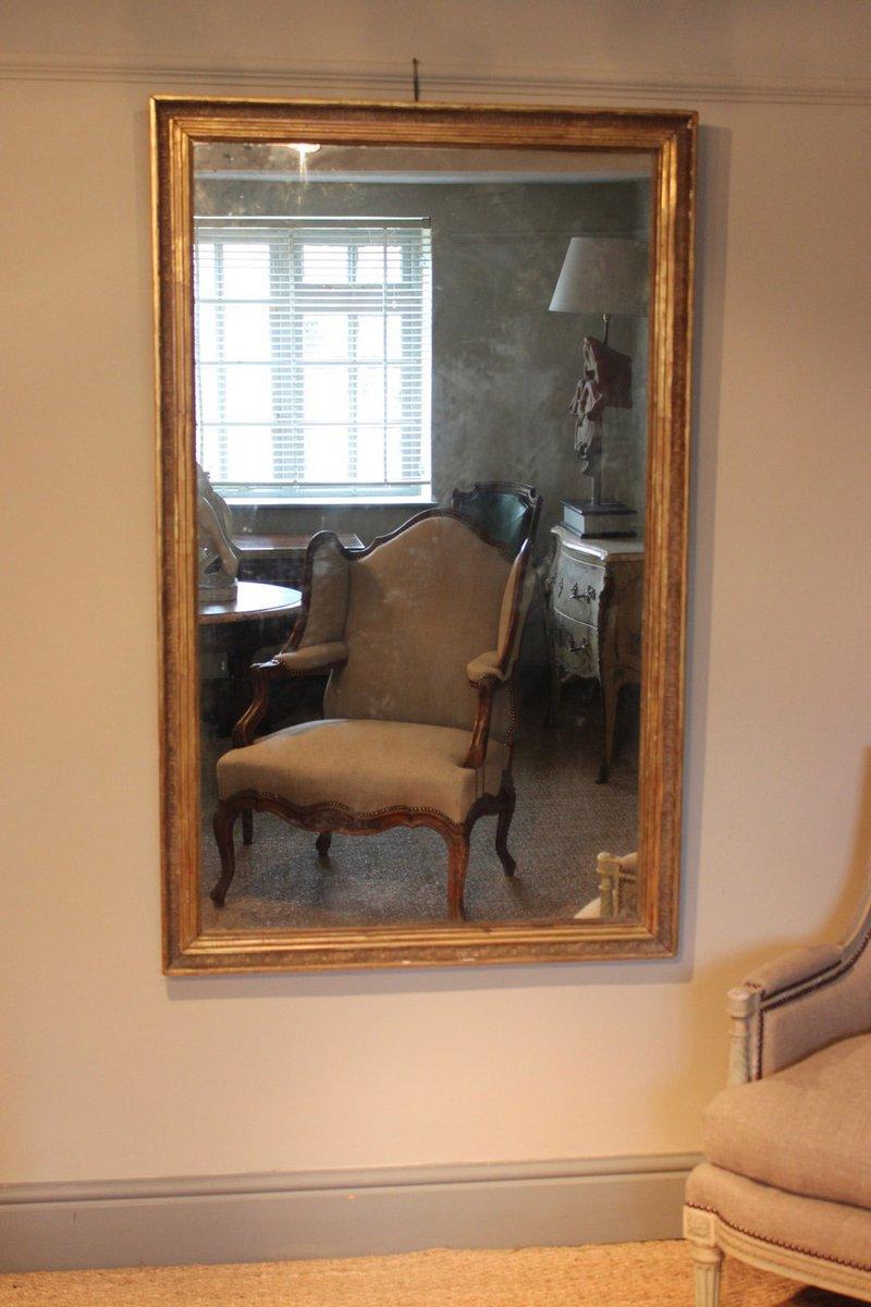 Specchio antico dorato francia in vendita su pamono for Specchio antico rovinato