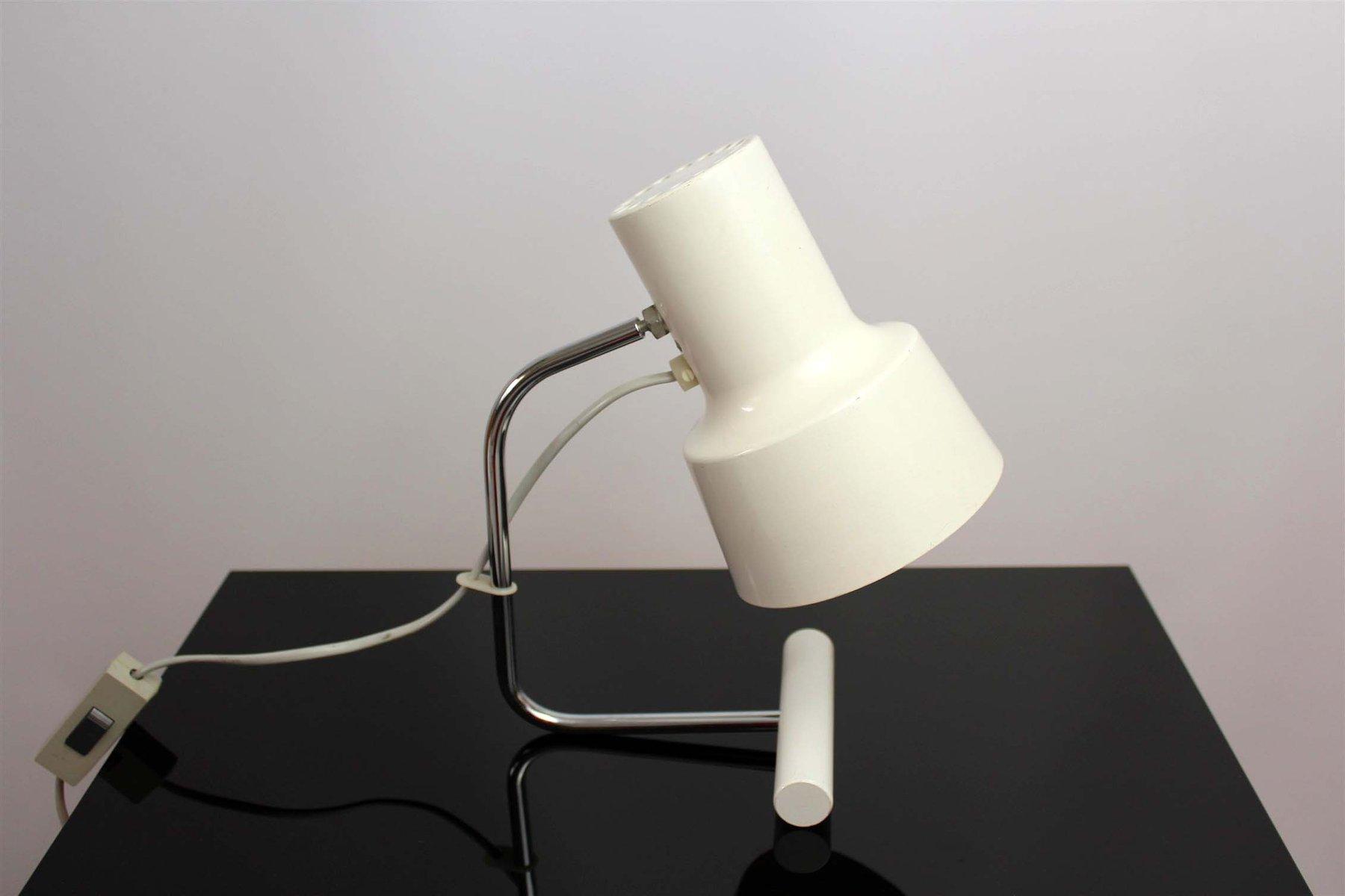 White table lamp by josef hurka for napako 1960s en venta en pamono aloadofball Choice Image