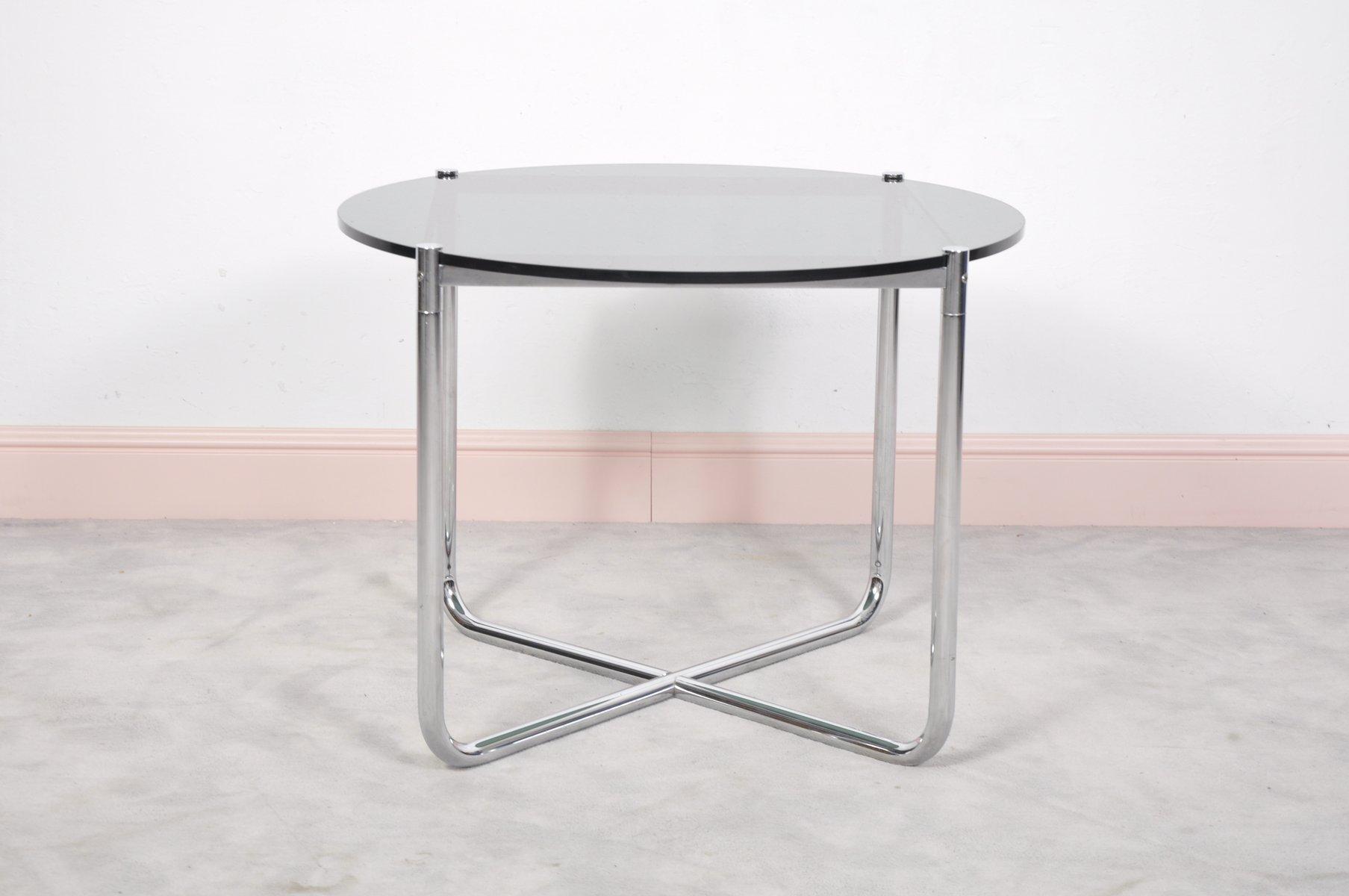 Tavolino MR Di Ludwig Mies Van Der Rohe Per Knoll International, Anni U002770