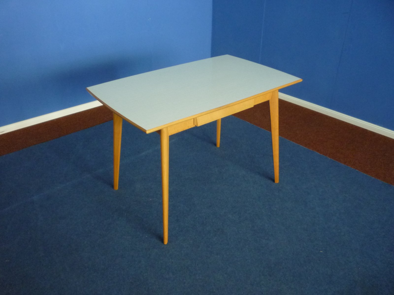 formica  u0026 beech kitchen table 1950s formica  u0026 beech kitchen table 1950s for sale at pamono  rh   pamono com