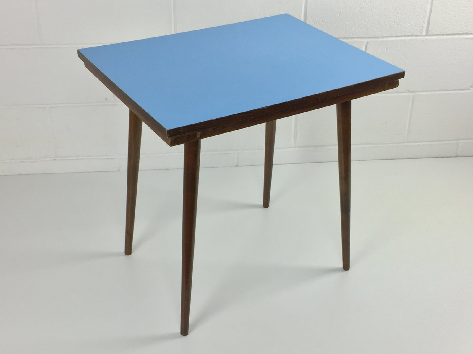 Mid Century Czech Beech U0026 Blue Formica Coffee Table From Tatra Nabytok For  Sale At Pamono Nice Ideas
