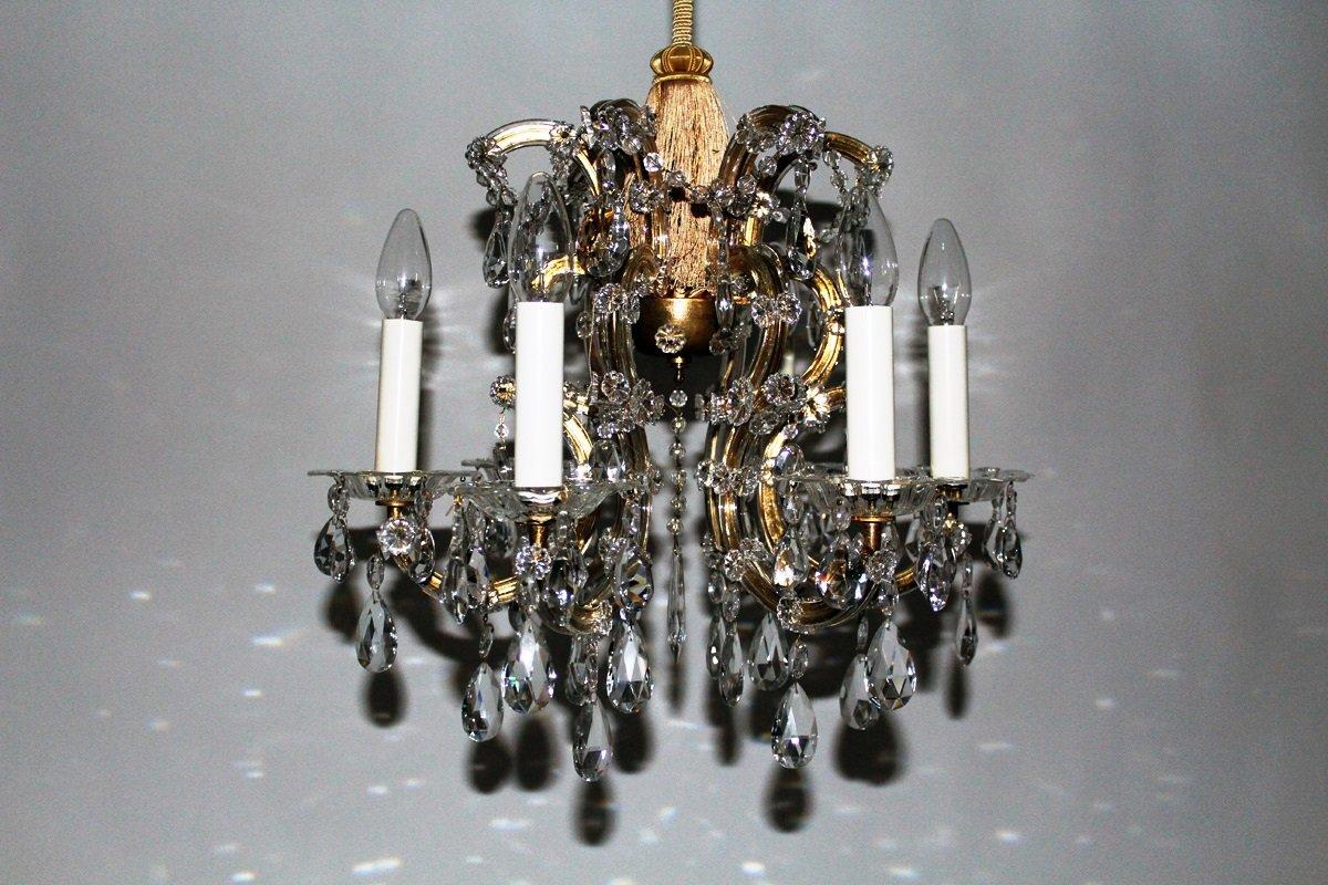 Kronleuchter Kristall vintage kristall kronleuchter lobmeyr bei pamono kaufen
