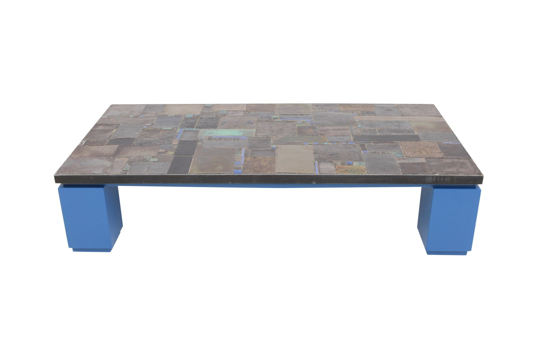 Ceramic tile coffee table from pia manu for sale at pamono dailygadgetfo Gallery