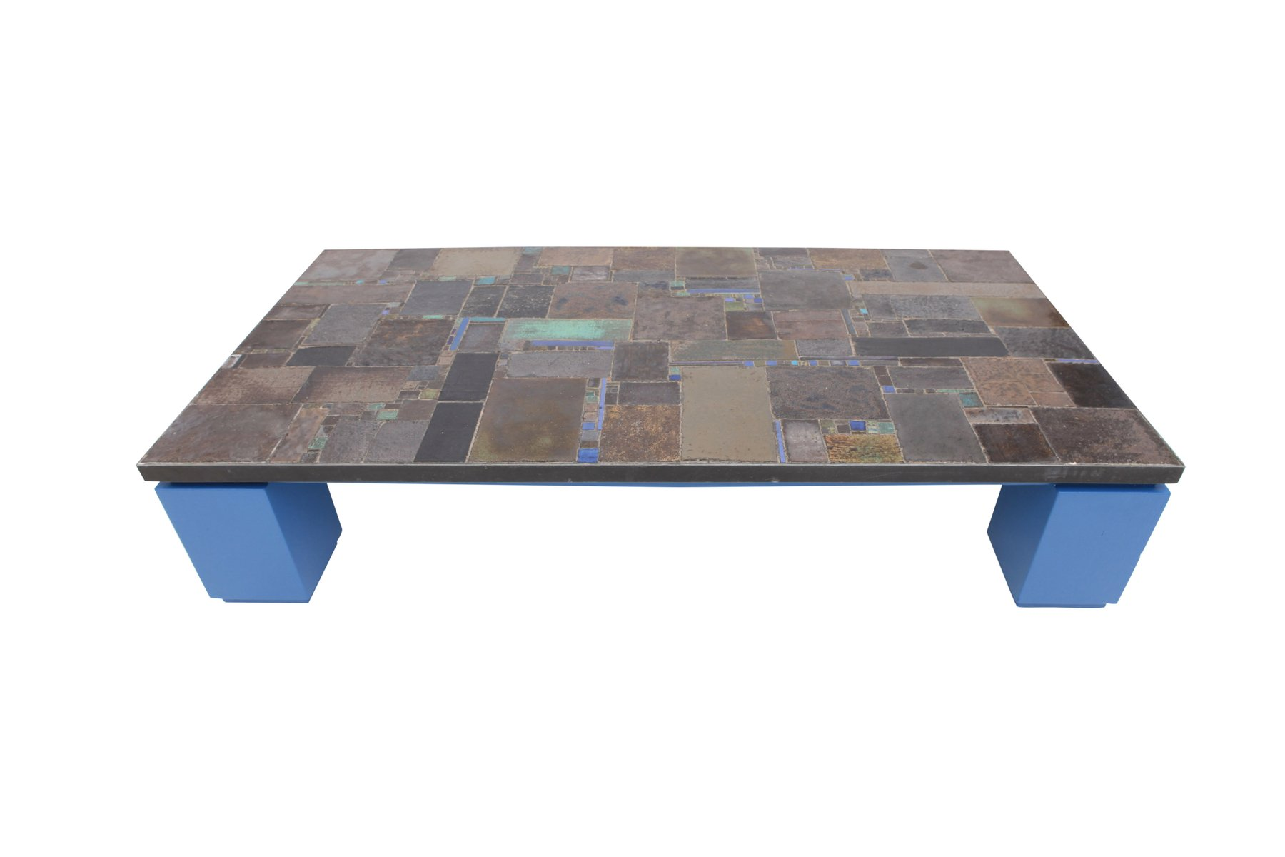 Ceramic tile coffee table from pia manu for sale at pamono ceramic tile coffee table from pia manu dailygadgetfo Image collections