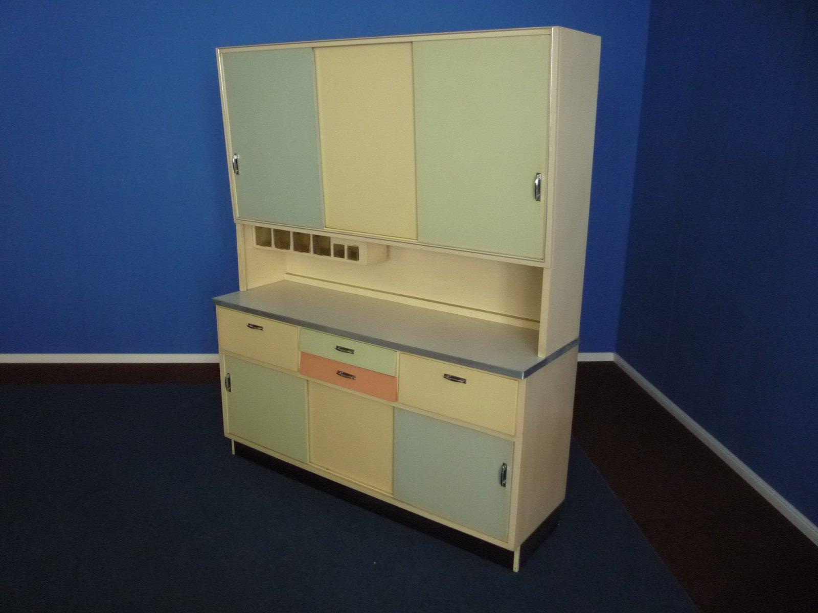 deutscher k chenschrank 1950er bei pamono kaufen. Black Bedroom Furniture Sets. Home Design Ideas