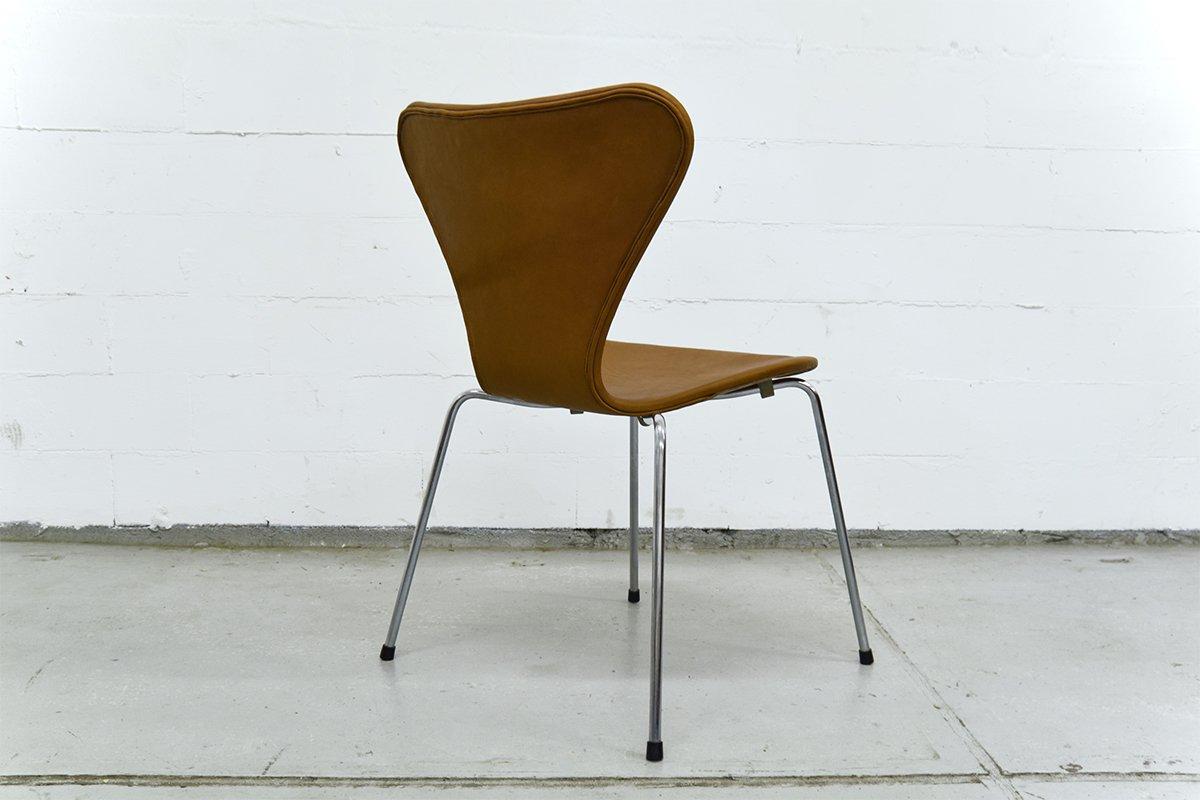 vintage serie 7 stuhl von arne jacobsen f r fritz hansen bei pamono kaufen. Black Bedroom Furniture Sets. Home Design Ideas