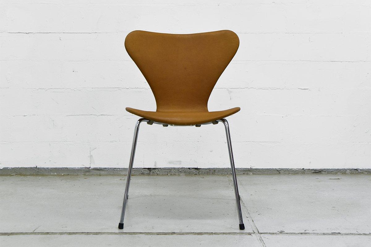 vintage serie 7 stuhl von arne jacobsen f r fritz hansen. Black Bedroom Furniture Sets. Home Design Ideas