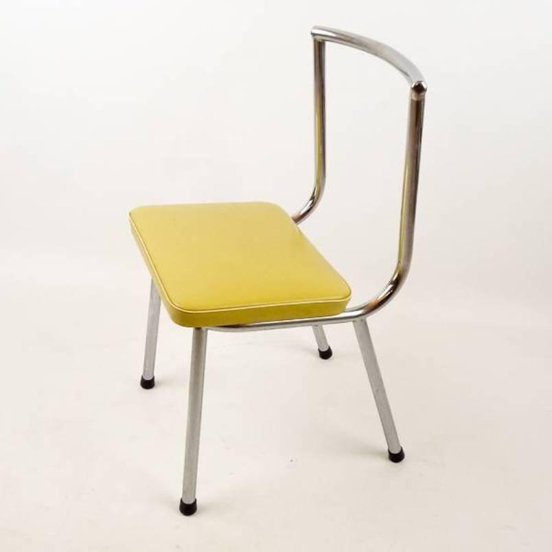 Small Tubular Chair, 1950s