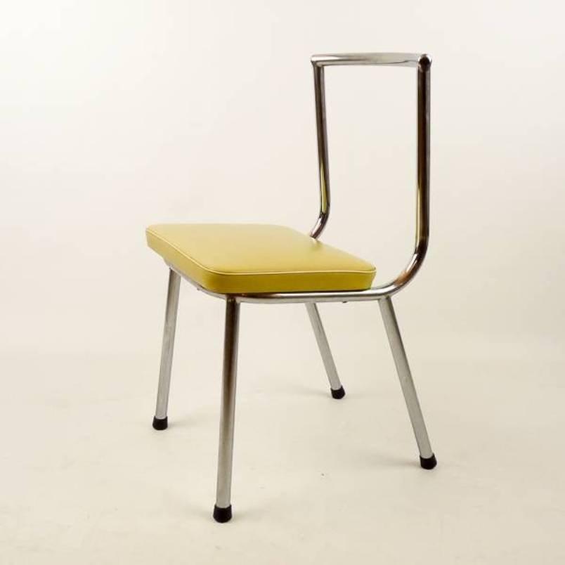 niedriger vintage stuhl 1950er bei pamono kaufen. Black Bedroom Furniture Sets. Home Design Ideas