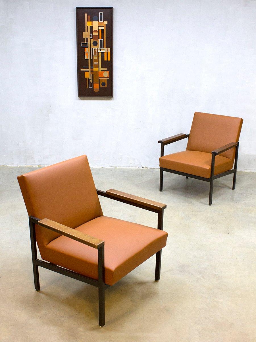 Vintage dutch 36dla chair by gijs van der sluis for sale for Dutch design chair karton
