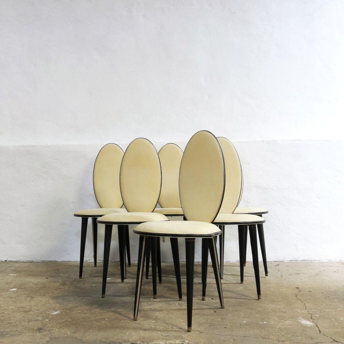 Set de salle manger mid century par umberto mascagni for Salle a manger annee 1950