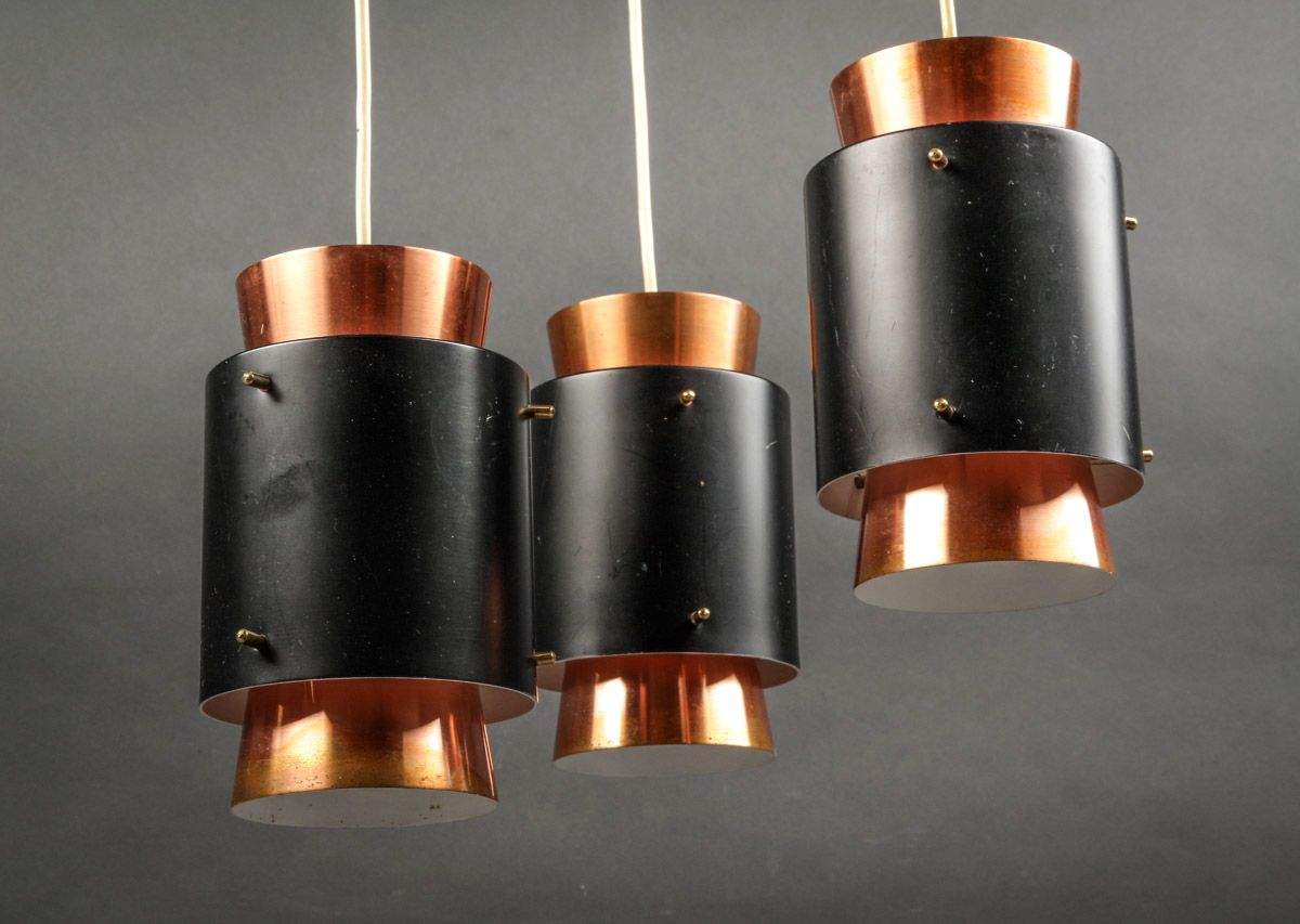 Mid century danish copper ceiling light by jo hammerborg for fog mid century danish copper ceiling light by jo hammerborg for fog mrup 1960s aloadofball Images