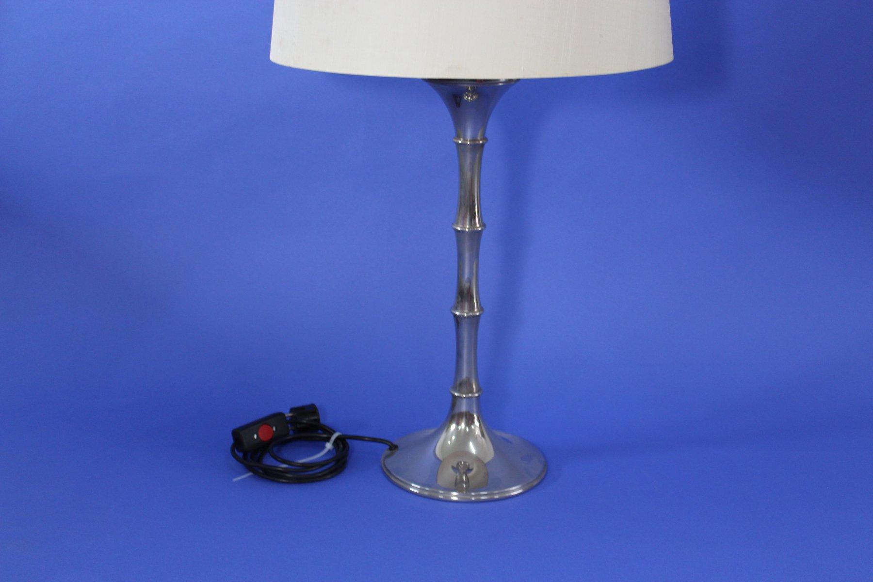Vintage Bamboo Table Lamp By Ingo Maurer For Design M
