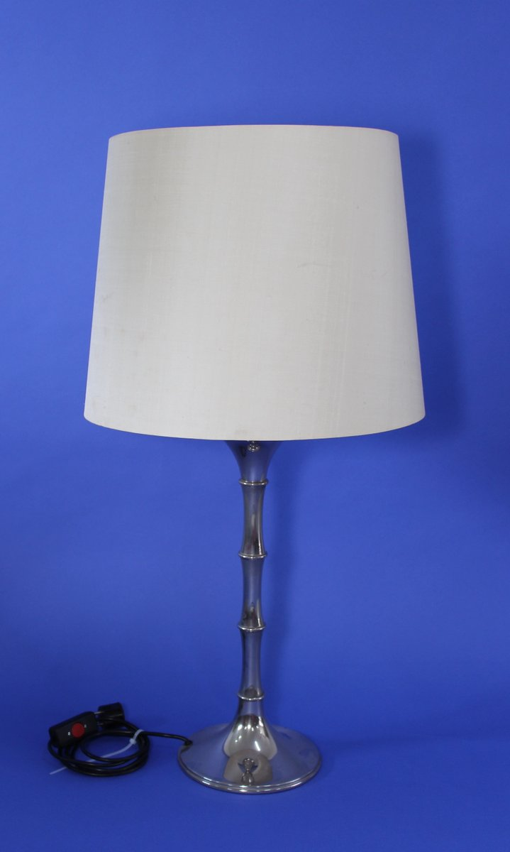 Vintage Bamboo Table Lamp By Ingo Maurer For Design M