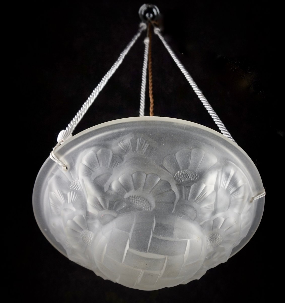 Art deco chandelier by david gueron for degu 1920s for sale at pamono price per piece aloadofball Images