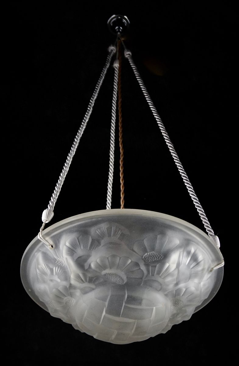Art deco chandelier by david gueron for degu 1920s for sale at pamono arubaitofo Images