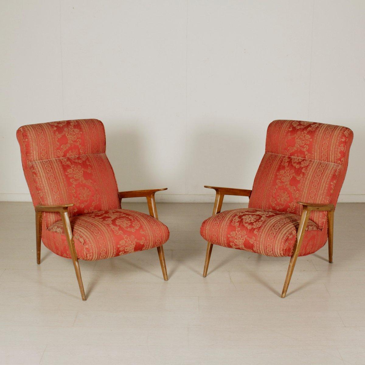 vintage buchenholz sessel 1950er 2er set bei pamono kaufen. Black Bedroom Furniture Sets. Home Design Ideas