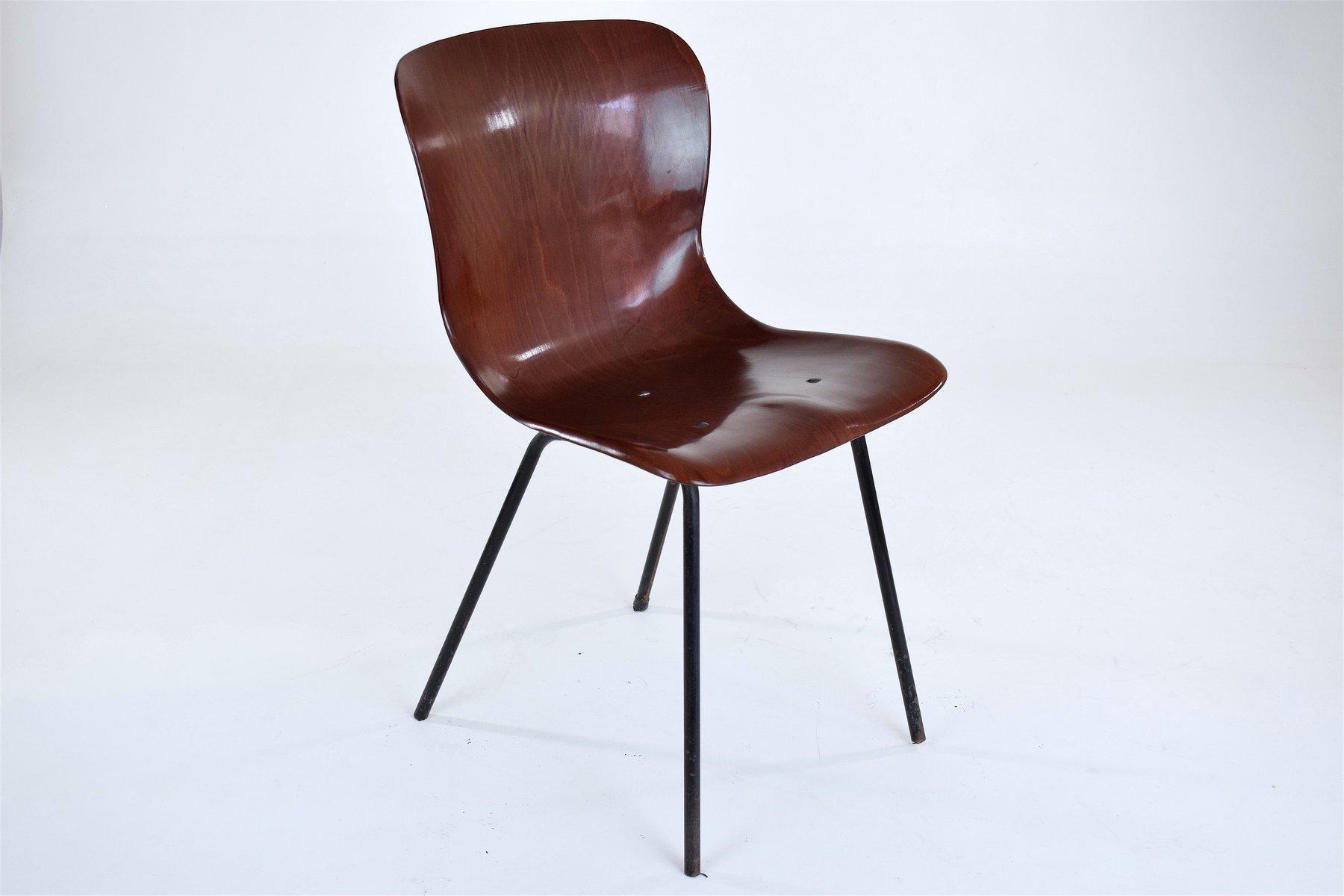 chaise mod le 1507 de pagholz allemagne 1956 en vente. Black Bedroom Furniture Sets. Home Design Ideas