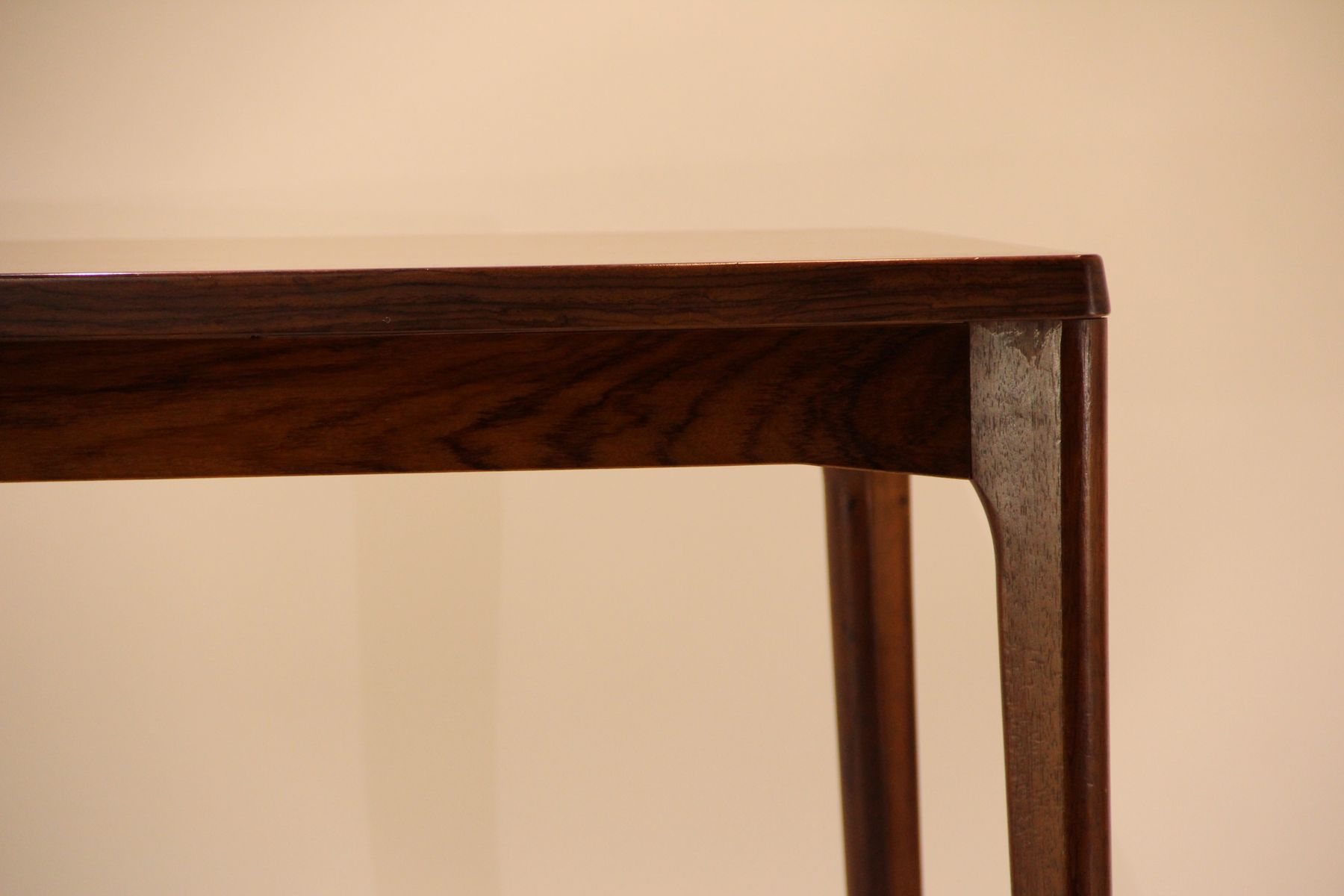 Mid Century Rosewood Dining Table By Henning Kjærnulf For Vejle Moebelfabrik