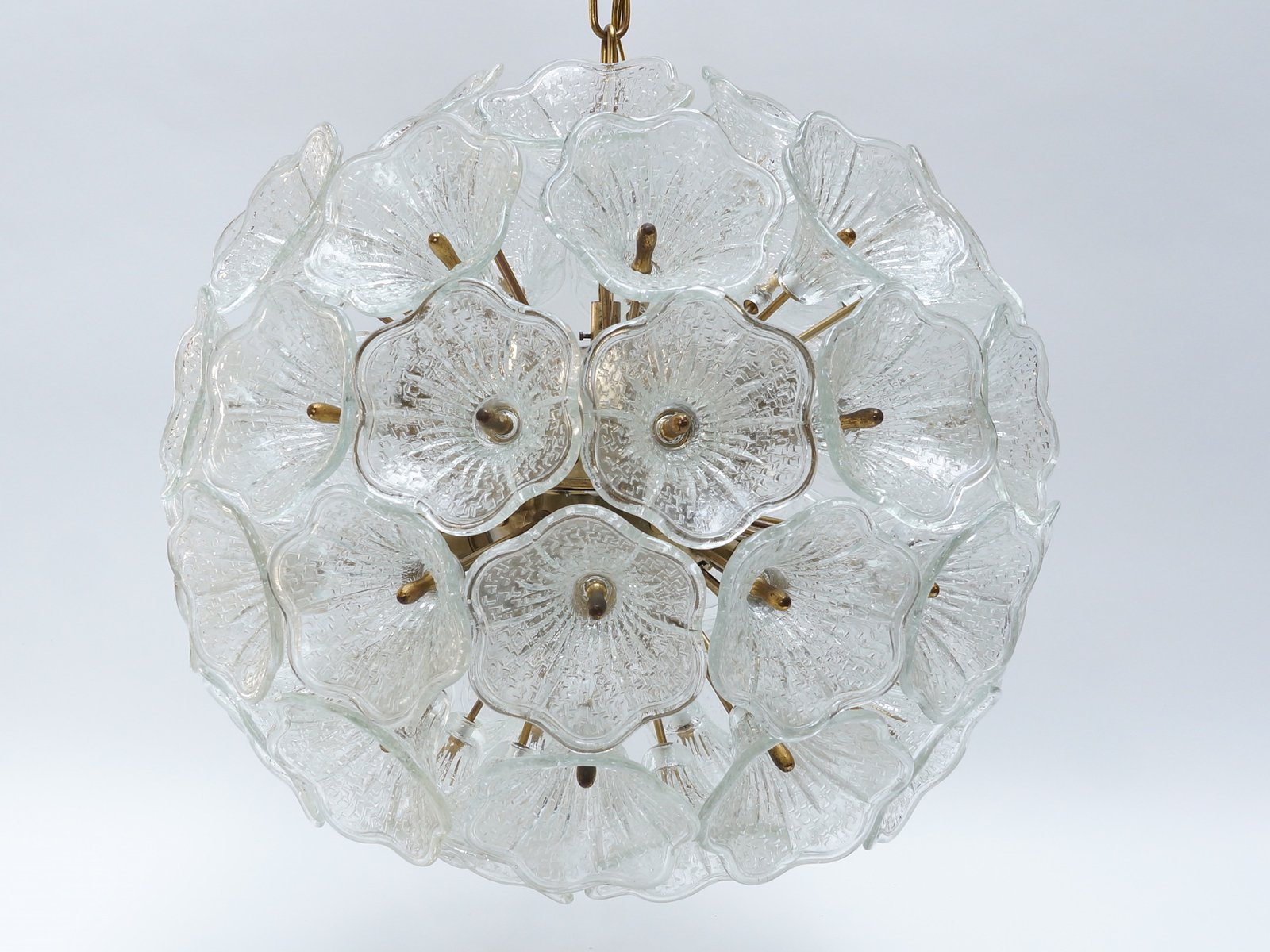 Murano glass flower chandelier from murano 1960s for sale at pamono price per piece aloadofball Image collections