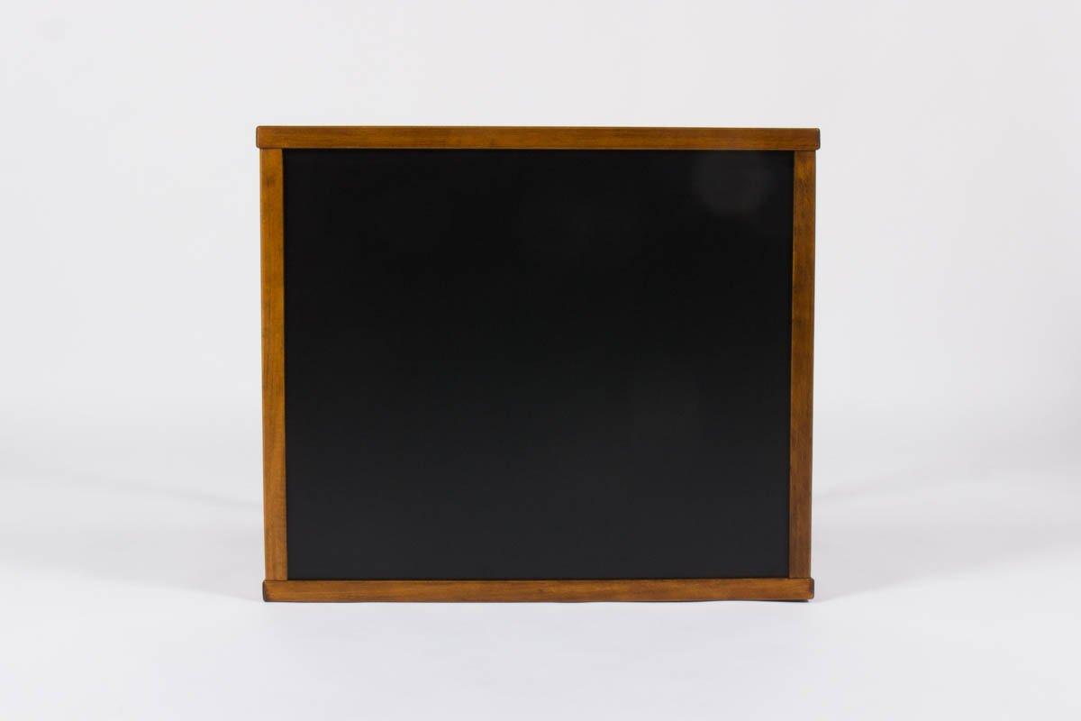 petit bureau avec plateau lamin noir de andre sornay. Black Bedroom Furniture Sets. Home Design Ideas
