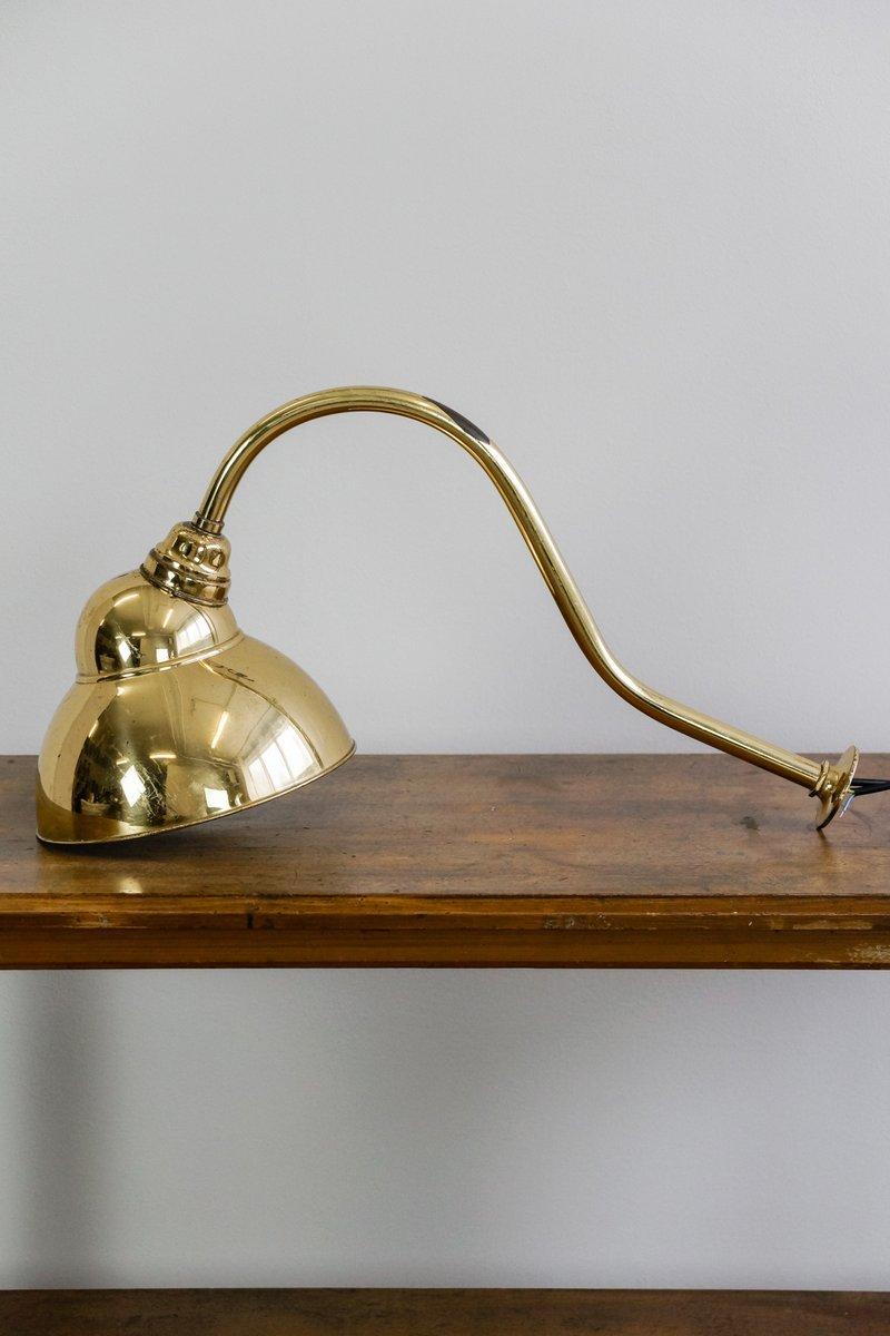 englische vintage messing spotlight wandlampe 1920er bei. Black Bedroom Furniture Sets. Home Design Ideas