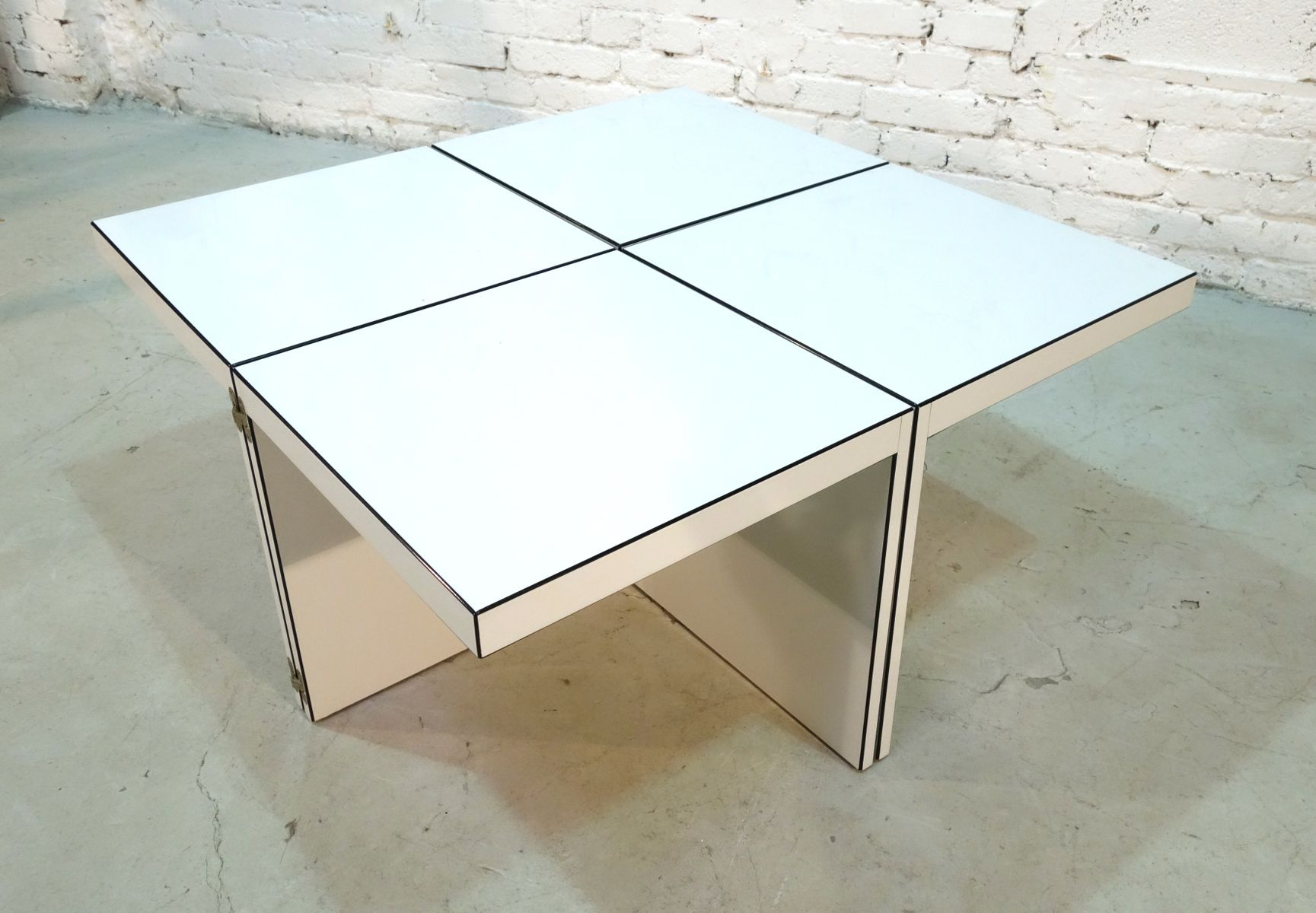 domino modular side table by jan wichers and alexander blomberg for rosenthal einrichtung 1979 2 Top Result 50 Best Of Gold and Glass Coffee Table Image 2017 Ksh4