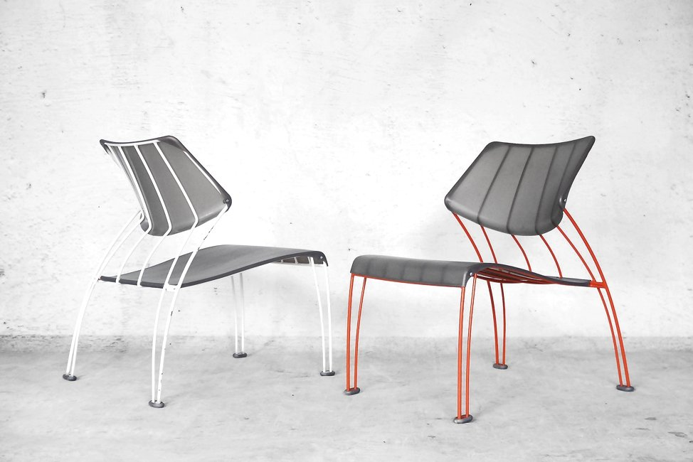vintage hasslo st hle von monika mulder f r ikea 2er set. Black Bedroom Furniture Sets. Home Design Ideas