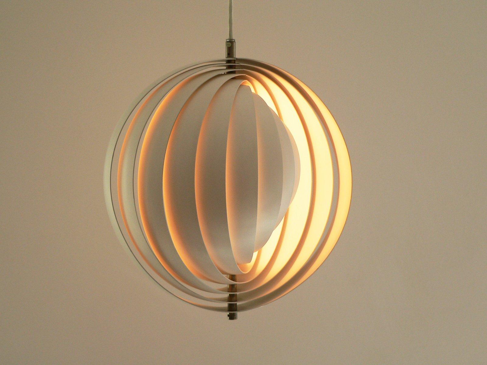 lampe moon par verner panton pour louis poulsen 1960s en vente sur pamono. Black Bedroom Furniture Sets. Home Design Ideas