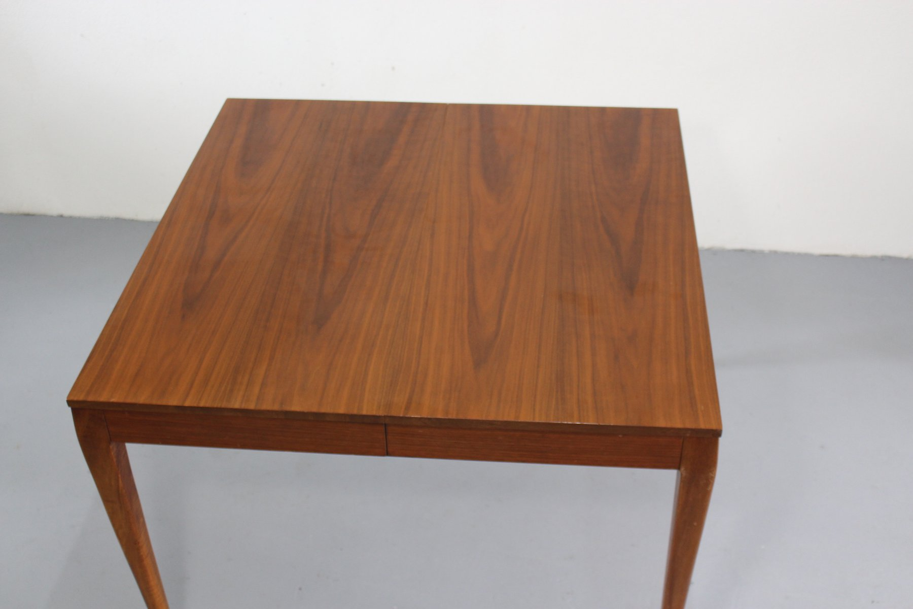 gro er ausziehbarer esstisch von paul mccobb f r wk m bel. Black Bedroom Furniture Sets. Home Design Ideas