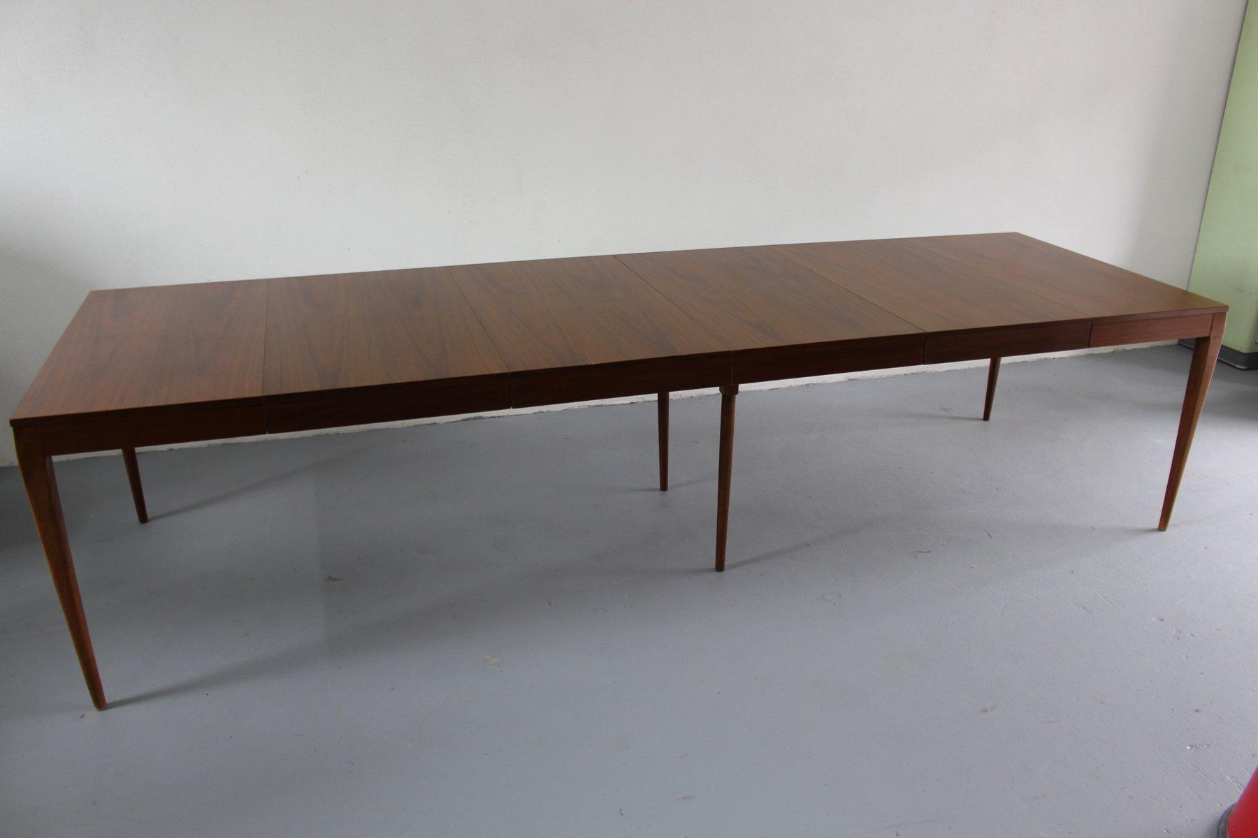 Großer Ausziehbarer Esstisch Von Paul McCobb Für WKMöbel