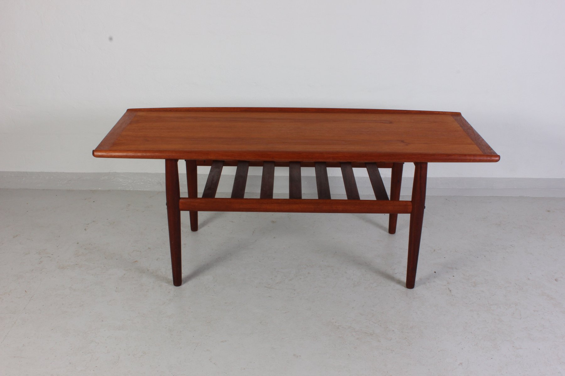 Mid Century Teak Coffee Table By Grete Jalk For Glostrup
