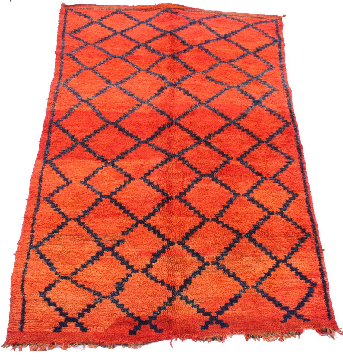 vintage marokkanischer ait sgougou teppich bei pamono kaufen. Black Bedroom Furniture Sets. Home Design Ideas