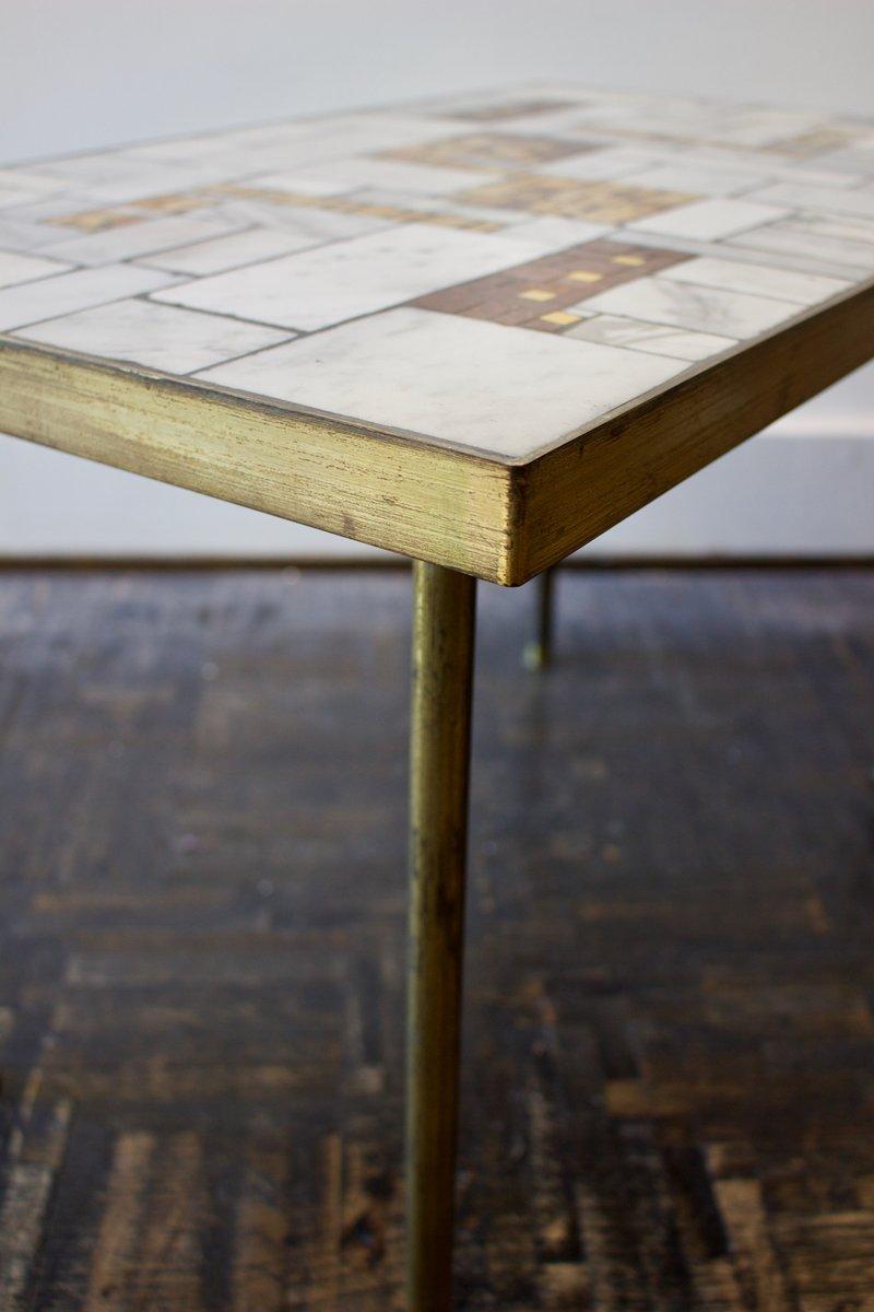 mid century marmor beistelltisch von berthold m ller bei pamono kaufen. Black Bedroom Furniture Sets. Home Design Ideas